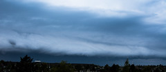 A storm is coming (Bo Gaarde) Tags: storm clouds thunderstorm thunder darkclouds extremeweather herlev gustfront