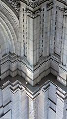 Angular Columns (f0rbe5) Tags: uk blue detail london stone museum grey design arch decorative columns angles carving va victoriaandalbertmuseum marble victoriaandalbert southkensington decorativearts 2013 angularcolumns