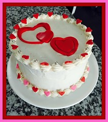 Heart cake, Loundon County, VA, www.birthdaycakes4free.com