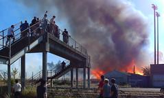 Civic1b (Wolfram Burner) Tags: oregon fire community baseball stadium eugene burn civic arson eugeneoregon conflagration civicstadium
