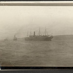 Troopships, Gaspe Harbour