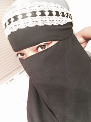 ZipNiqab (ZipNiqab) Tags: black veiled veil drink muslim hijab muslimah eat modesty zipper niqab faceveil zip modest burqa selfie burka purdah khimar   islamicfashion islamicwear flowerofislam pee zipniqab niqabwithzipper eatwithniqab munaqabah niqabiah