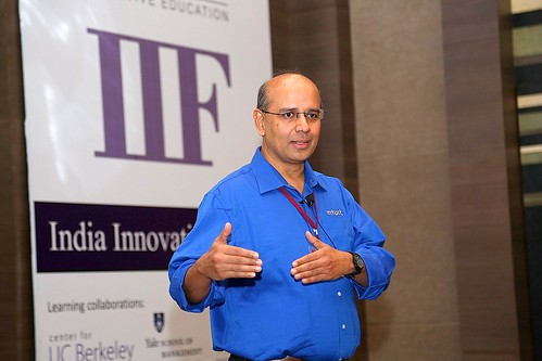 Vijay Anand during Design Thinking Workshop