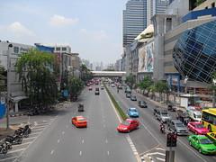CIMG0497 (S.J.L Photography) Tags: road street red bus train dead thailand army major nokia cityscape shot general bangkok streetphotography casio motorbike shirts grandpalace thai april protests exilim 2010 redshirts 5800 xpres exz1 khattiya sawasdipol