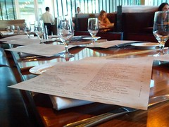 Menu (Photographing Travis) Tags: menu restaurant mountainview dinner wine southbay sanjose 2013