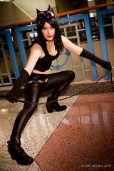 Tampa Bay Comic-Con 2015 Cosplay - BATMAN - CATWOMAN (Howie Muzika) Tags: costume tampabay florida cosplay character comicbook fl dccomics comiccon