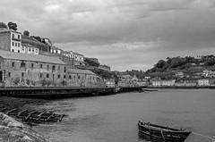 Porto, Portugal (Rosemary.999) Tags: river waterfront city urban cityscape porto portugal traval bw monochrome nikon d750