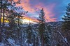 Golden hour at 6,750 ft above sea level. (rob_luna) Tags: california bigbear snow landscape goldenhour