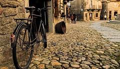 La Alberca (Raúl GaPa) Tags: la alberca salamanca vintage bike old style yellow street