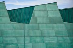 Green wall (Modesto Vega) Tags: architect architecture building d600 fullframe geometry green museodelacience nikon nikond600 rafaelmonep spain valladolid