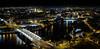 Seville by night (fruizh) Tags: agua sevilla nocturna guadalquivir puentedelcristodelaexpiración 2016 torrepelli panorámica puentedetriana