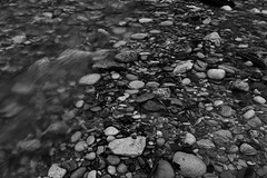 Attention to detail (spencerwalton) Tags: sunny exposure light sunlight 2017 outdoors depth depthoffield bw rays outdoor nikon d3300 rock rocks water wet stream woods tree trees forest cool teenager dslr photography photo landscape view perspective design shape element space sharpness bright camera