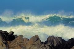 Lost Horizon (GeminEye27) Tags: wave ocean sea seascape montereybay pacificgrove storm