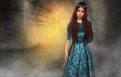 Lady of the Mist... (Kacey Macbeths) Tags: empyreanforge lady secondlife fog queen castle women beautiful enchanting mina junbug