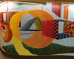 . (SA_Steve) Tags: abstract mosaic nyc subway mural wall subwaystation alheld held passingthrough 51st53rdlexirtindtransfer mta miottomosaicartstudio newyorkcity manhattan tile shape geometric geometry shapes artinpublictransit artunderground usa america unitedstatesofamerica unitedstates