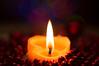Romance - Explored (Robin Penrose) Tags: holidaybokeh macromonday candlelight romance red sooc lowkey lowlight hmm votivecandle beads minixmasballs macro macrotubes 201612 bokeh