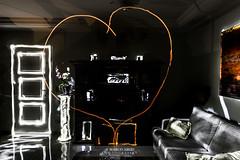Um Coração (Marco Abud) Tags: marcoabud marcoabudfotografia abud abudfotografia abudesigner corpoempoesia lightpainting love coração heart art music door porta ambiente decoração aconchego amor