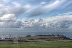 Portland - Lighthouse and rugby posts! (muffinn) Tags: platinumheartaward portlandbill