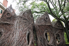 Stickworks (melinaparkinson) Tags: art sculpture nature sticks trees outdoor