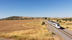 Regional Exprés 17823 | Zafra (Nohab0100) Tags: espanha españa spain extremadura zafra comboio train tren automotora automotor dmu caf 598 renfe mediadistancia regionalexprés ferrocarril
