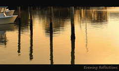 Evening Reflections (Poocher7) Tags: goodlandfl florida usa southwestflorida evening reflections water boats posts ropes sunset dusk lovely beautiful