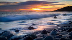 Sunset at Spornes, Arendal, Norway (Karl P. Laulo) Tags: spornes sunset arendal norway longexposure canon canon7d 7d solnedgang tromoy tromøy tromøya norge
