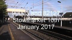 90003 and 82127 (uktrainpics) Tags: 90003 82127 class 90 stowmarket
