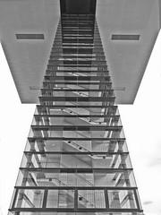 Stairway to Heaven? (dolorix) Tags: dolorix köln cologne kranhaus cranehouse architektur architecture stairway treppenhaus glas glass