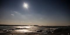Myrsky 2 (Tapio Kekkonen) Tags: hanko winter sea storm waves moon night could