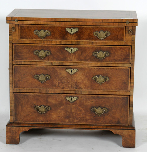 Councill Craftsman Banded Mahogany 4 Drawer Chest ($577.50)