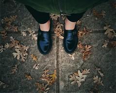 Autumn (PattyK.) Tags: me myself autumn autumncolours snapseed feet drmartens