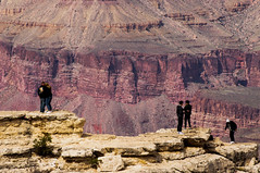 on the edge ... (mariola aga) Tags: arizona grandcanyon canyon cliffs edge abyss rim rocks southrim people tourists saariysqualitypictures thegalaxy