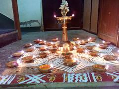 IMG_20161212_193712 (bhagwathi hariharan) Tags: rangoli kolam nallasopara nalasopara rose pooja christmas 2016 festivals mumbai goregaon prithvilandproject 2017 celebrations lordshani lordayyappa