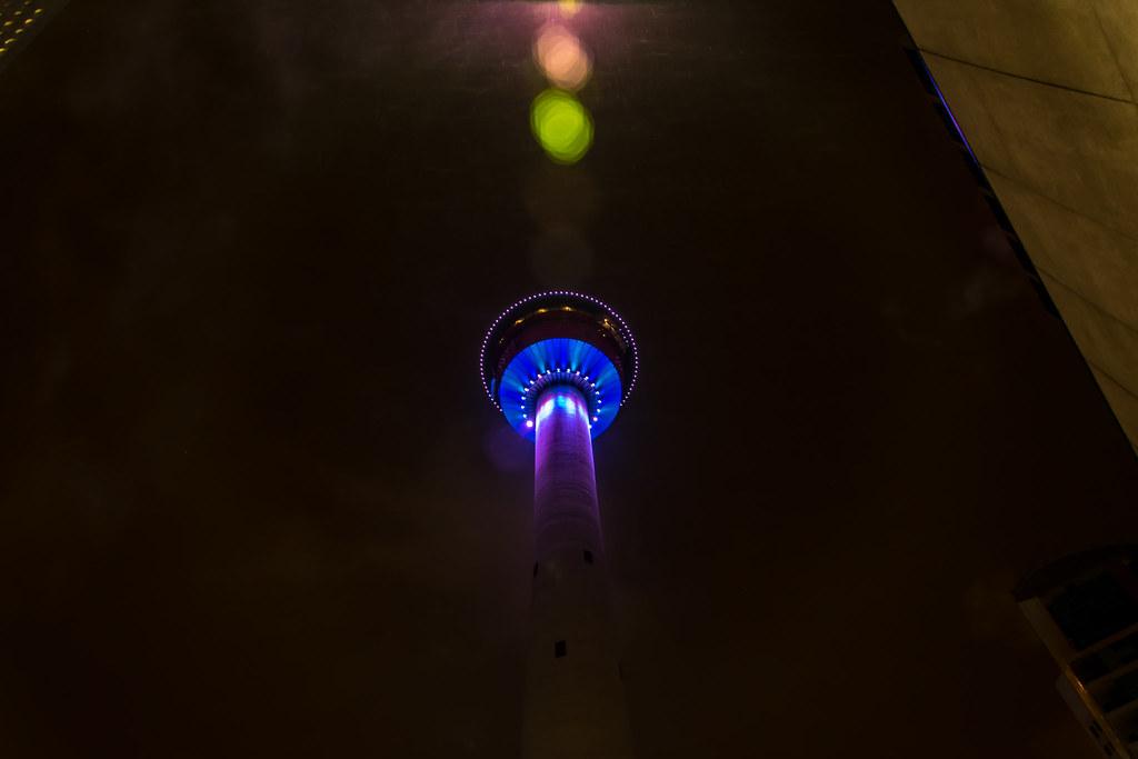 d43279e2beeb Calgary Tower (ironsidedonald) Tags  calgary calgarytower tower city night  nighttime alberta canada