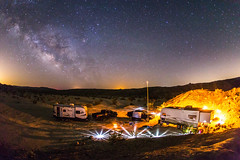 Our campsite at Vallecito Creek in Anza-Borrego Desert State Park (slworking2) Tags: california camping unitedstates desert trailer anzaborrego rv campsite milkyway anzaborregodesertstatepark