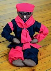 Elegua Altar Doll (RebelGrl) Tags: doll santeria boricua yoruba elegua