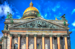 St. Isaac's Cathedral (Kev Walker ¦ 8 Million Views..Thank You) Tags: stpetersburg russia hdr 2015 kevinwalker