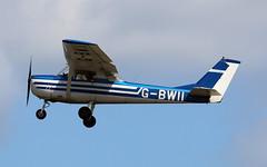 G-BWII Cessna 150G (PlanecrazyUK) Tags: fly in sturgate 070615 cessna150g egcv gbwii