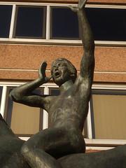 The Messenger by Sir David Wynne, SUTTON, Surrey, Greater London (4) (tonymonblat) Tags: sculpture horse london art reed statue surrey 1981 publicart sutton horseandrider thequadrant suttonsurrey londonboroughofsutton sirdavidwynne suttonlondon