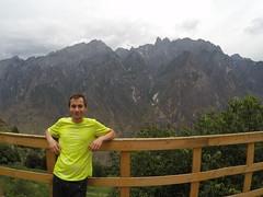 Vue de notre auberge pendant le trek du Tiger Leaping Gorge
