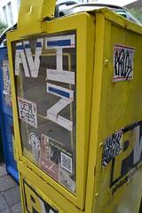 Stickers (MaxTheMightyy) Tags: streetart art philadelphia graffiti sticker stickerart tag stickers postalsticker tags vandal vandalism philly slap usps tagging 228 vandals graffitiart slaps aviz postallabel demeyes
