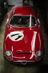 Alfa Romeo Giulia TZ (LeGrand_Photography) Tags: cars racing alfaromeo motorsports zagato vintageracing midohio svra