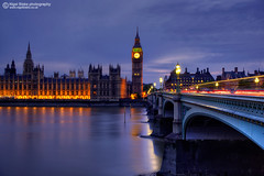 The Houses of Parliament and Westminster Bridge (Nigel Blake, 15 MILLION views! Many thanks!) Tags: city uk bridge houses light england london tower westminster thames night river photography lights big long exposure elizabeth time ben capital parliament nighttime blake nigel the theelizabethtower