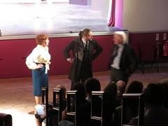 2015_06_27 05 Picking on audience member (Riverside Drama Company) Tags: whodidit riversidedramacompany midsummerthreesome