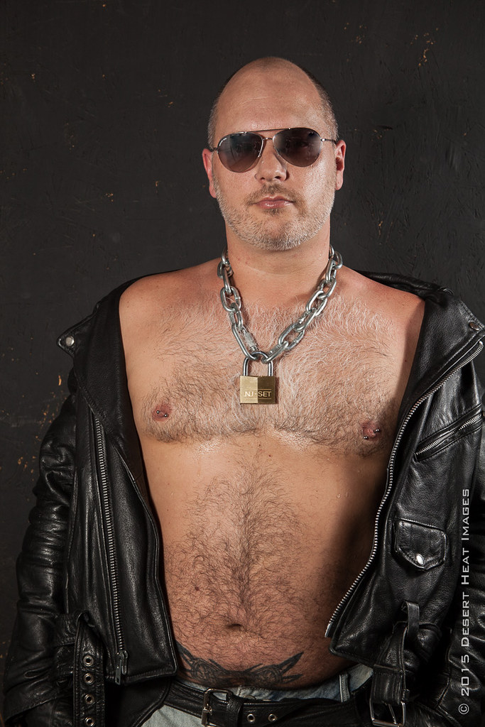 Gay Man Bear Leather