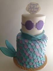 Mermaid cake (3622) (Asweetdesign) Tags: birthday sea cute girl cake scales mermaid fondant