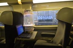 On the TGV train to Nancy