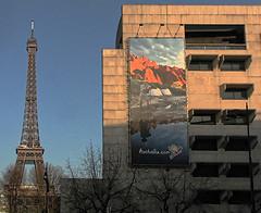 aussie_billboard_near_the_eiffel_tower_robyn_aldridge_cropped (Robyn Aldridge) Tags: paris france tower landscape eiffel lr6 canon450d pscc on1pe aussiebillboard