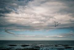 Sunderland Airshow 2015 (Alex Nichol) Tags: leica family sea beach kids fun lumix coast dof bokeh candid panasonic airshow event 17 15mm redarrows sunderland m43 mft sunderlandairshow gm5 microfourthirds panasoniclumixdmcgm5 dmcgm5 sunderlandairshow2015 leicadg15mmf17asph bw12nd
