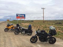 Photo-2015-07-19-11-00-28_1330.jpg (waz0wski) Tags: utah us unitedstates border triumph bmw motorcycle monticello bonneville r1100s speedtriple mototripyellowstone